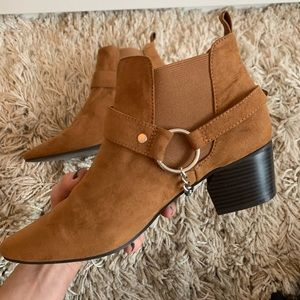 FOREVER 21 | Chelsea Boho Ankle Boots